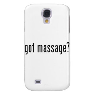 Got Massage? Galaxy S4 Cover