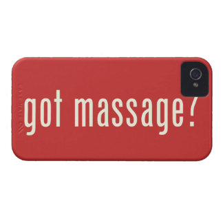 Got Massage? iPhone 4 Case