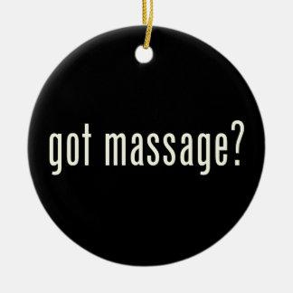 Got Massage? Christmas Ornaments