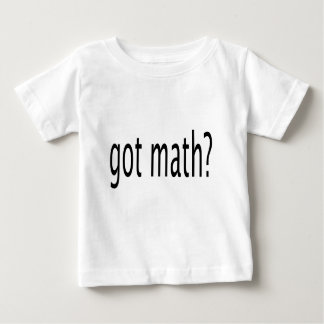 got math? baby T-Shirt