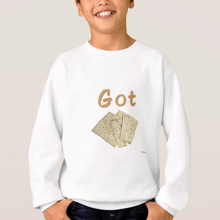 Got Matzoh Passover gifts Sweatshirt