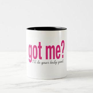Got me? Two-Tone coffee mug
