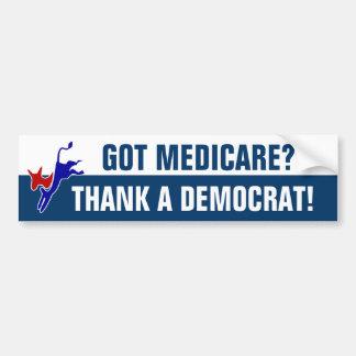 Got Medicare? Car Bumper Sticker