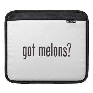 got melons sleeves for iPads