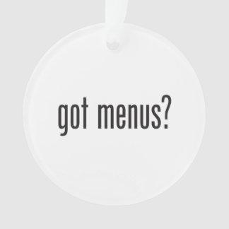 got menus