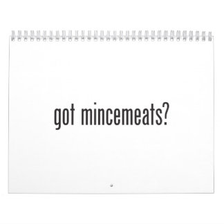 got mincemeats calendar
