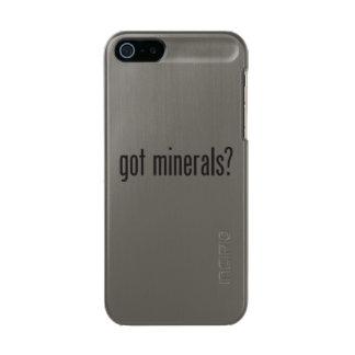 got minerals metallic iPhone SE/5/5s case