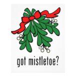 got mistletoe? full color flyer