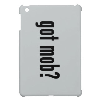got mob? iPad mini covers