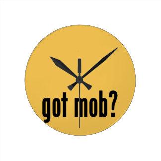 got mob? round clock