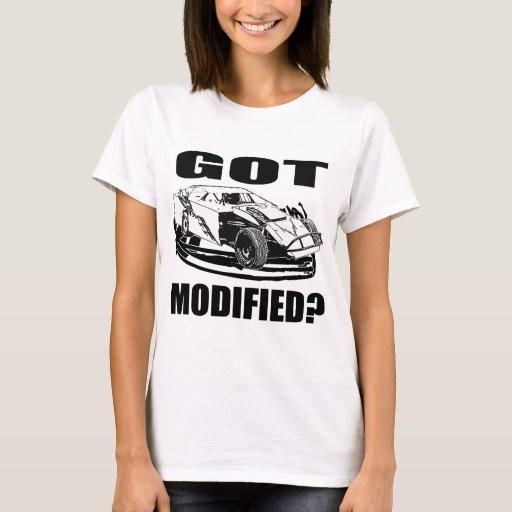 Got modified dirt modified racing t shirt zazzle for Custom race shirts no minimum