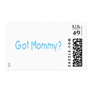 Got Mommy? (Blue) Postage Stamp