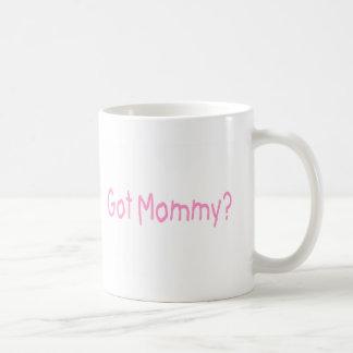 Got Mommy? (Pink) Coffee Mug