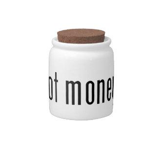got money? candy jars