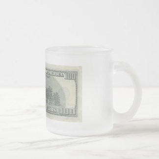 GOT MONEY FROSTED GLASS COFFEE MUG