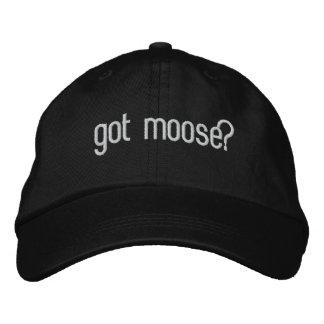 got moose? hat embroidered hat