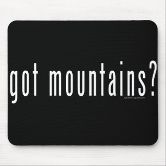 got mountains? mouse pad