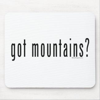 got mountains? mouse mats