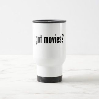 got movies? travel mug