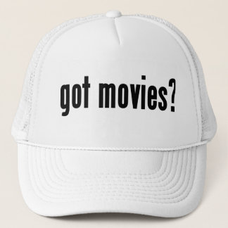 got movies? trucker hat