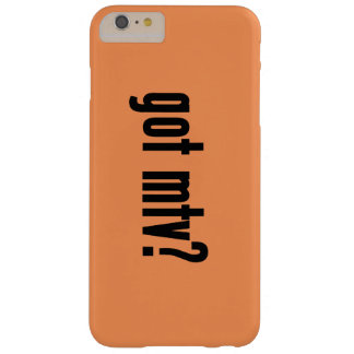 got mtv? barely there iPhone 6 plus case