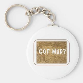 Got Mud Basic Round Button Keychain