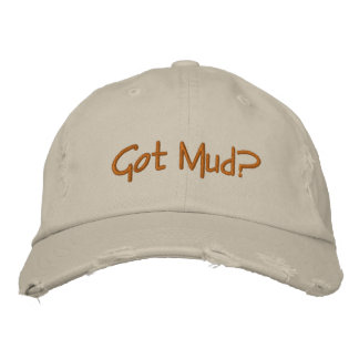 Got Mud? for the potter in  your life! Embroidered Baseball Hat