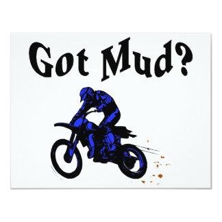 Got Mud Motorcycle Card