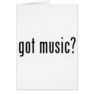 got music? card