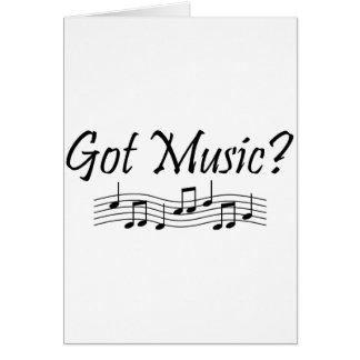 Got Music? (Notes 1) Card