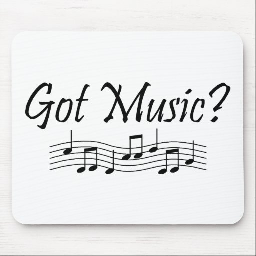 Got Music? (Notes 1) Mouse Pad