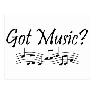 Got Music Notes 1 Post Cards