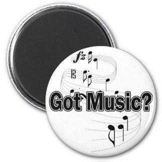 Got Music? (Notes) 2 Inch Round Magnet