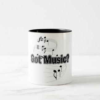 Got Music? (Notes 2) Two-Tone Coffee Mug