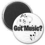 Got Music (Notes) Fridge Magnet