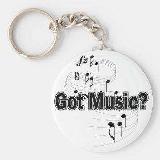 Got Music? (Notes) Keychain