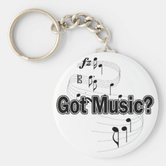 Got Music (Notes) Keychain