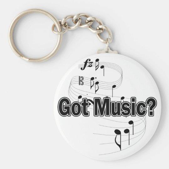 Got Music (Notes) Keychain