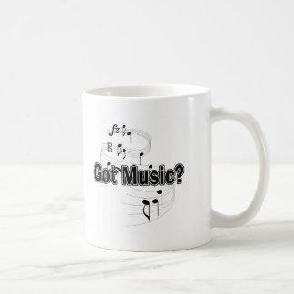 Got Music? (Notes) Classic White Coffee Mug