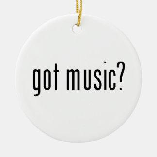 got music? ornaments