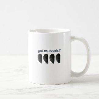 got mussels? coffee mug