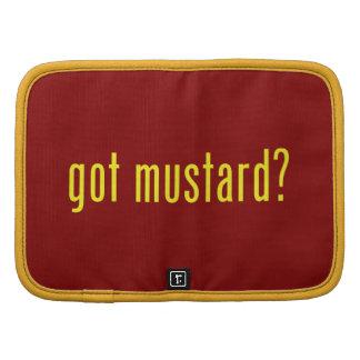 got mustard? folio planner