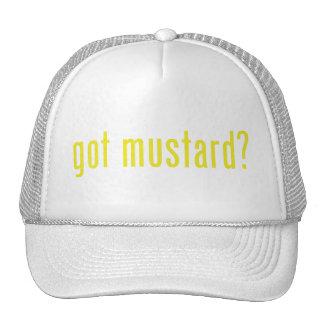 got mustard? trucker hats