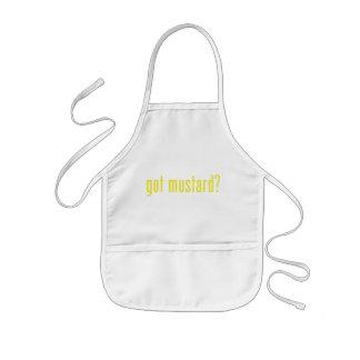got mustard? kids' apron