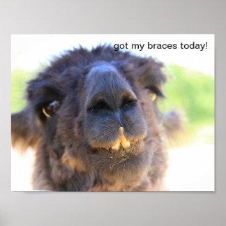 Got my braces today! poster