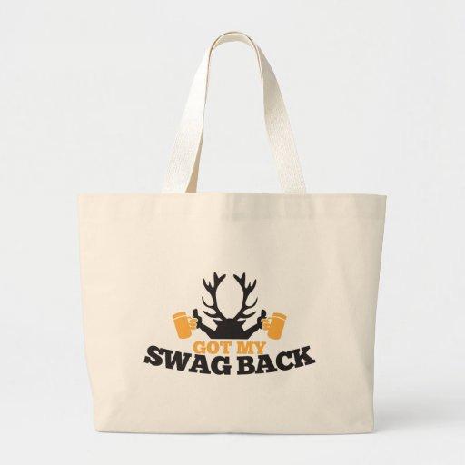 Got MY SWAG BACK!  reindeer buck with beers! Bags