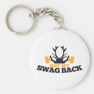 Got MY SWAG BACK!  reindeer buck with beers! Keychain