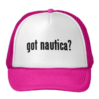 got nautica? trucker hat