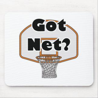 got net basketball hoop mouse pads