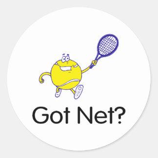 Got Net Classic Round Sticker